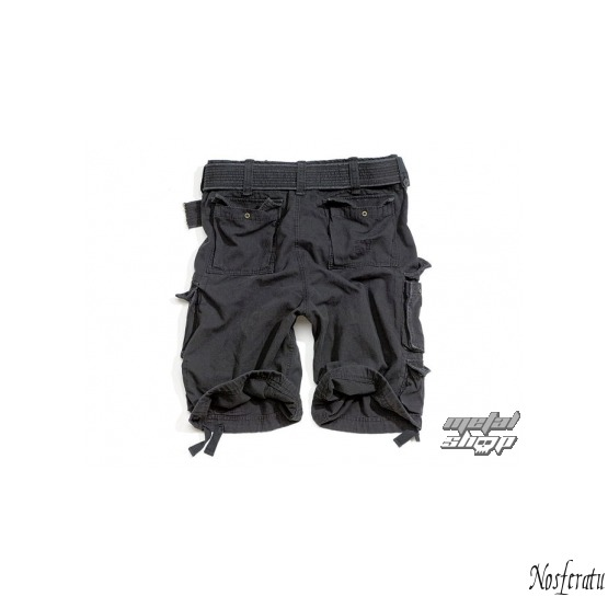 kraťasy SURPLUS - DIVISION SHORT - BLACK