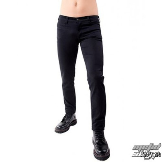 nohavice pánske Black Pistol - Close Pants Denim Black