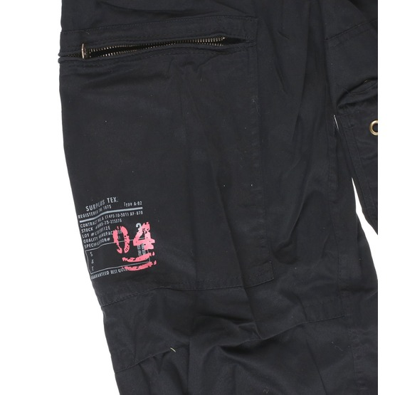 nohavice SURPLUS - Infantry - BLACK