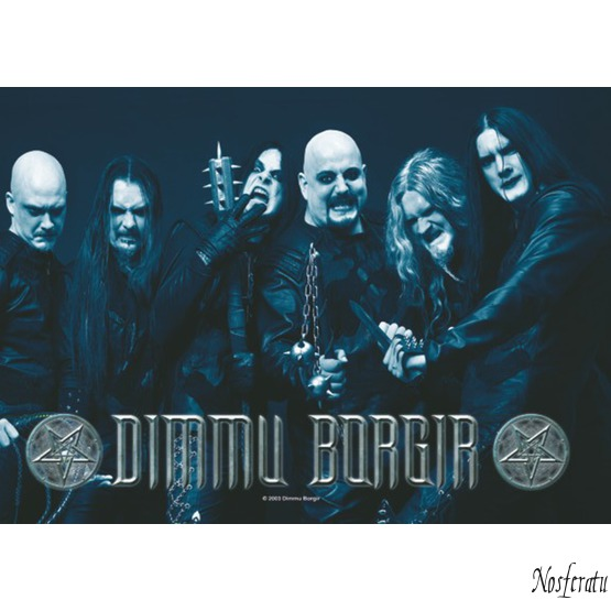 vlajka Dimmu Borgir - Band Photo