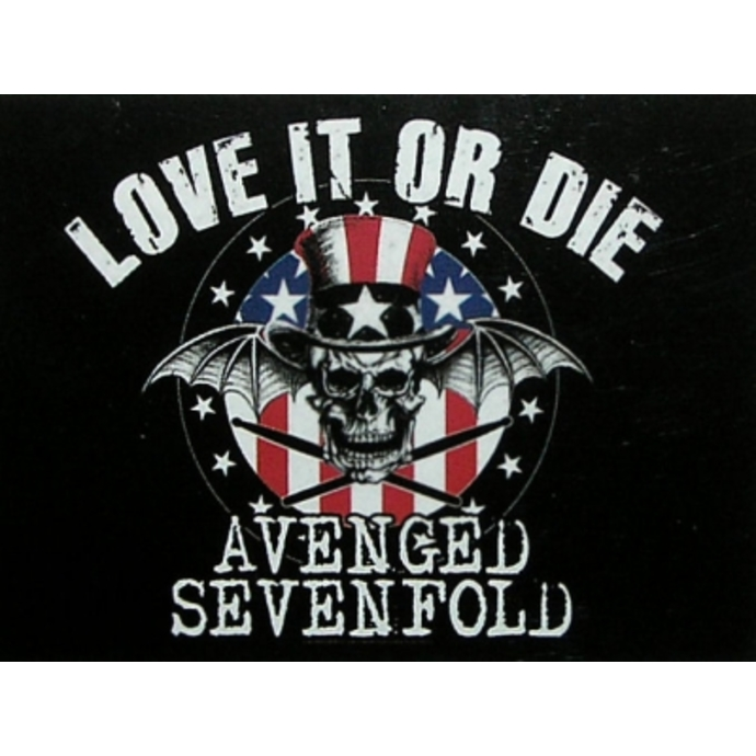 vlajka Avanged Sevenfold - Love to or Die