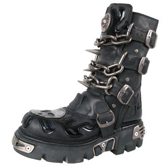 Topánky New rock - Chain Boots (727-S1) Black - N-8-06-700-00