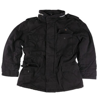 bunda SURPLUS - M65 JACKE WASHED - BLACK - 20-3500-63