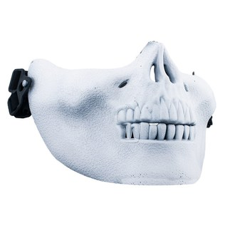 maska POIZEN INDUSTRIES - Skull Mask - White