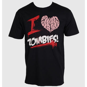 tričko pánske GOODIE TWO SLEEVES - I Love You Zombies - ZOMB-01