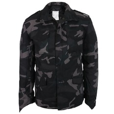 bunda pánska zimný SURPLUS - M 65 - Black Camo, SURPLUS