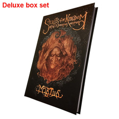 kniha (darčekový set) Mortiis: Secrets Of My Kingdom (Signed deluxe boxset), CULT NEVER DIE, Mortiis