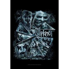 vlajka Slipknot - Broken Glass, HEART ROCK, Slipknot