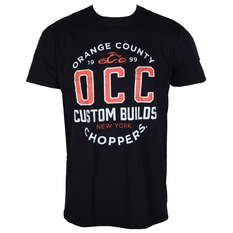 tričko pánske ORANGE COUNTY CHOPPERS - Rebel - Black, ORANGE COUNTY CHOPPERS