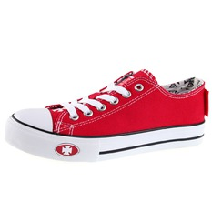 topánky West Coast Choppers - WARRIOR LOW-TOP - RED, West Coast Choppers