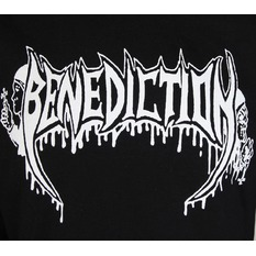 mikina dámska BENEDICTION - Old School - Logo, NNM, Benediction