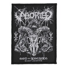 nášivka ABORTED - GOD OF NOTHING - RAZAMATAZ, RAZAMATAZ, Aborted