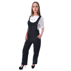 overal dámsky Innocent - CAMDEN DUNGAREES - BLACK, Innocent