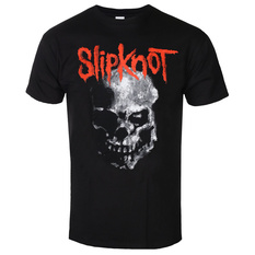 tričko pánske Slipknot - Gray Chapter Skull - BL - ROCK OFF, ROCK OFF, Slipknot