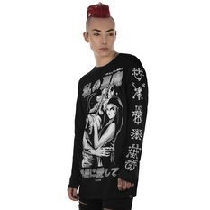 tričko unisex s dlhým rukávom KILLSTAR - Demon Lover Long Sleeve Top, KILLSTAR