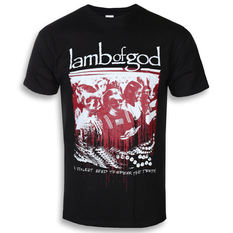 tričko pánske Lamb Of God - Enough Is Enough - ROCK OFF, ROCK OFF, Lamb of God