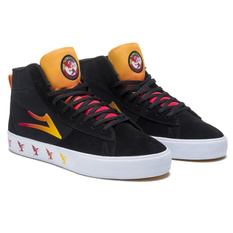 topánky Lakai x Black Sabbath - Never Say Die - Newport Hi - black gradient suede, Lakai x Black Sabbath, Black Sabbath