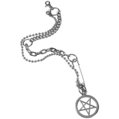 reťaz KILLSTAR - Pentagram Key-Chain, KILLSTAR