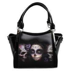kabelka (taška) ANNE STOKES - Day Of The Dead - Black, ANNE STOKES
